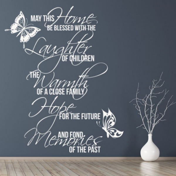 Sticker decorativ - MAY THIS HOME 2