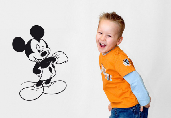 Sticker decorativ - MICKEY MOUSE 3 0
