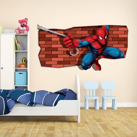 Sticker decorativ - SPIDERMAN IN ACTIUNE 0