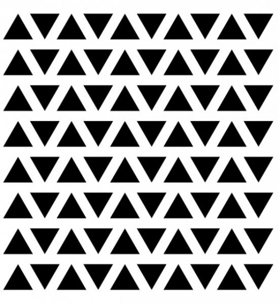 """Sticker decorativ - """"TRIUNGHI FORMA GEOMETRICA"""" - 80BUC 2"""
