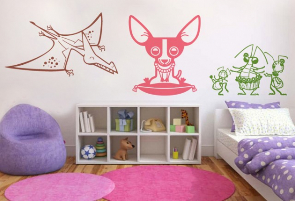Stickere decorative - CREATURI JUCAUSE 0