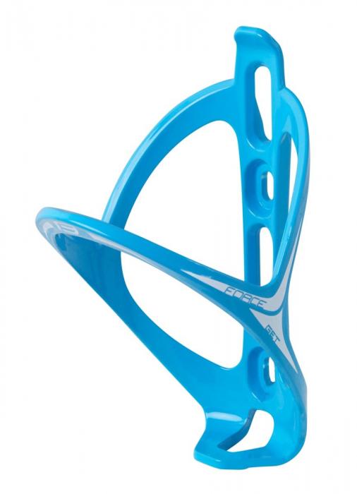 Suport bidon Force Get plastic albastru lucios [0]