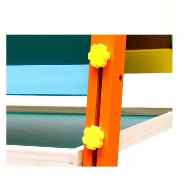 Tabla magnetica cu 2 suprafete, sevalet pictura, reglabila pe inaltime 2