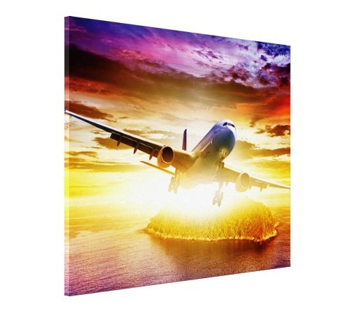 TABLOU CANVAS - AVION 01 2