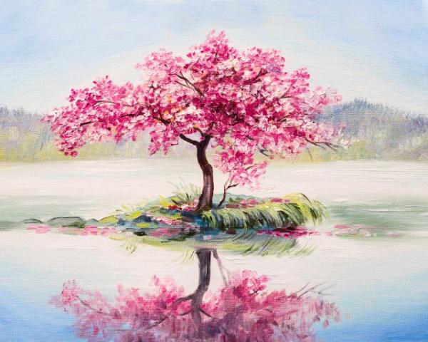 Tablou canvas - CIRES JAPONEZ 2