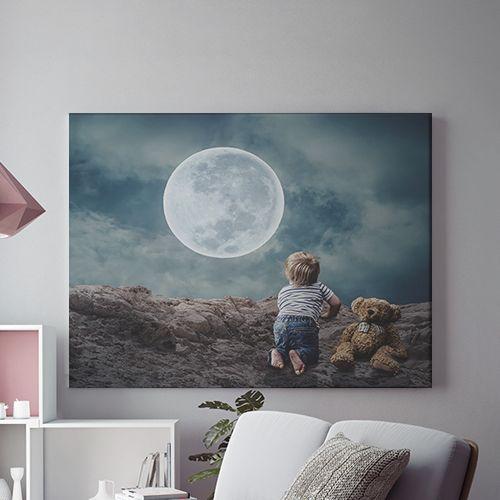 Tablou canvas -  MAGIA LUNII 0