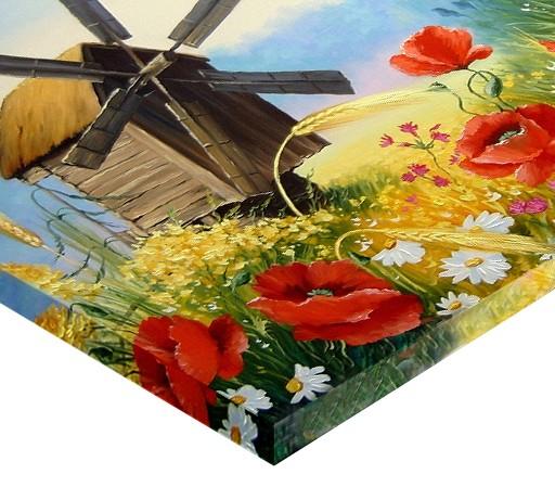 Tablou canvas - MOARA DE VANT IN LAN 1