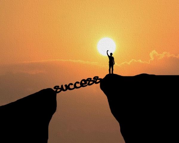Tablou canvas motivational - SUCCESS 1