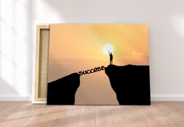 Tablou canvas motivational - SUCCESS 4