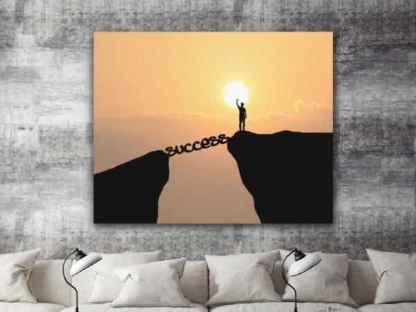 Tablou canvas motivational - SUCCESS 3