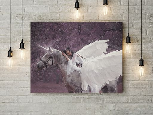 Tablou canvas - WINGED HORSE 1