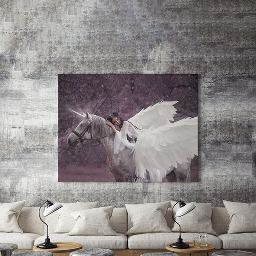 Tablou canvas - WINGED HORSE 2