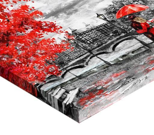 Tablou canvas - ZI PLOIOASA LA LONDRA 2