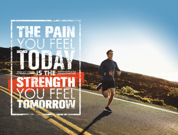 TABLOU MOTIVATIONAL - THE PAIN YOU FEEL TODAY 2