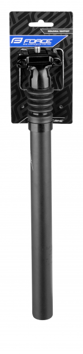 Tija sa Force cu suspensie 27.2/350/40mm aluminiu neagra [2]