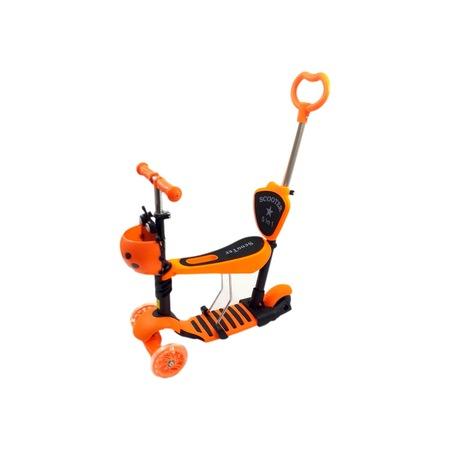 Trotineta evolutiva Scooter 5 in 1 pentru copii (4 culori disponibile) [0]