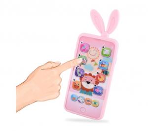 Jucarie interactiva telefon, Smart Phones Toys, + 3 luni,3
