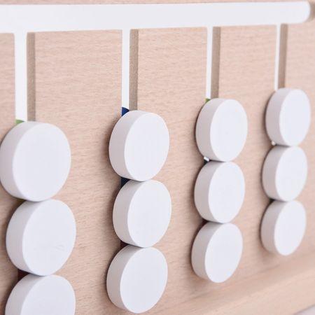 Joc Montessori Din Lemn Labirint Asociază Culorile5