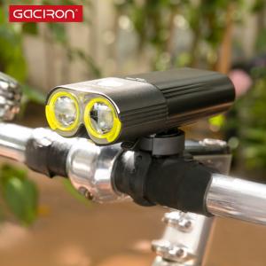 Far LED Gaciron V9D-1600, 1600 Lumeni, Baterie Reincarcabila 5000 mah, Rezistenta la Apa IPX6, Negru [2]