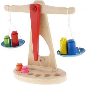 Jucărie balanță din lemn Montessori [1]