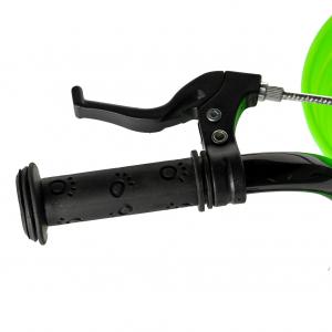 "Bicicleta baieti RICH BABY R14WTB, roata 14"", roti ajutatoare, 3-5 ani, culoare negru/verde5"