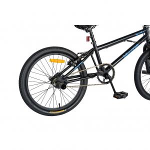 """Bicicleta BMX 20"""" VELORS V2016A, culoare negru/albastru [2]"""