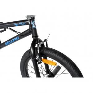"""Bicicleta BMX 20"""" VELORS V2016A, culoare negru/albastru [3]"""