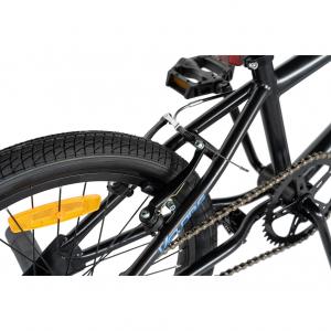 """Bicicleta BMX 20"""" VELORS V2016A, culoare negru/albastru [5]"""