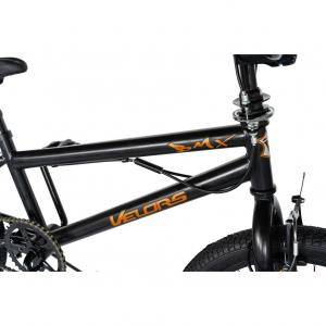 """Bicicleta BMX 20"""" VELORS V2016A, culoare negru/portocaliu2"""
