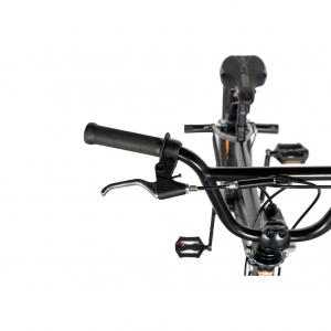 """Bicicleta BMX 20"""" VELORS V2016A, culoare negru/portocaliu6"""