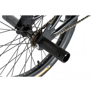"""Bicicleta BMX 20"""" VELORS V2016A, culoare negru/portocaliu4"""
