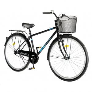 """Bicicleta CITY 28"""" Rich Exquisite R2891A, culoare negru/albastru1"""