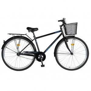"""Bicicleta CITY 28"""" Rich Exquisite R2891A, culoare negru/albastru0"""