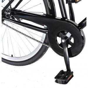 """Bicicleta CITY 28"""" Rich Exquisite R2891A, culoare negru/albastru5"""