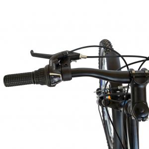Bicicleta CITY Velors V2633B, roata 26 inch, echipare Shimano, 18 viteze, culoare negru/albastru8