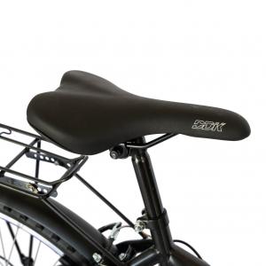 Bicicleta CITY Velors V2633B, roata 26 inch, echipare Shimano, 18 viteze, culoare negru/albastru3