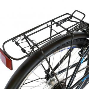 Bicicleta CITY Velors V2633B, roata 26 inch, echipare Shimano, 18 viteze, culoare negru/albastru7