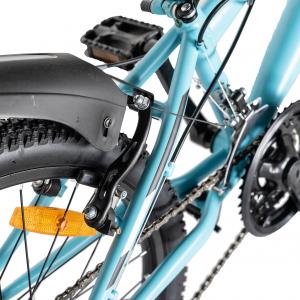 "Bicicleta copii 20"" LIFE A2030L, frana V-Brake,  18 viteze, varsta 7-10 ani, culoare albastru/alb4"
