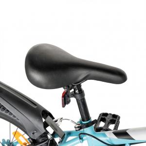 "Bicicleta copii 20"" LIFE A2030L, frana V-Brake,  18 viteze, varsta 7-10 ani, culoare albastru/alb7"