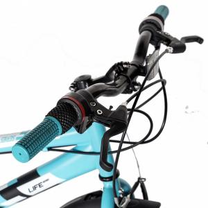 "Bicicleta copii 20"" LIFE A2030L, frana V-Brake,  18 viteze, varsta 7-10 ani, culoare albastru/alb8"