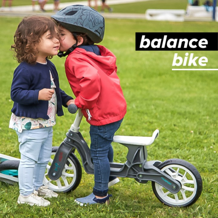 Bicicleta Copii fara pedale Polisport Bb Crem Mint 12 Inch, fara pedale, ergonomica [2]