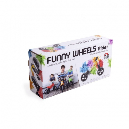 Bicicleta fara pedale Funny Wheels RIDER SPORT 2 in 1 Orange [2]