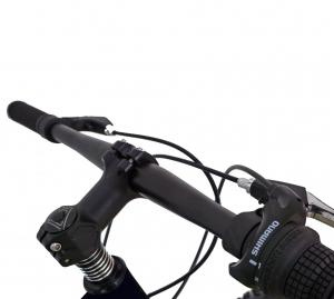 Bicicleta Fat Bike CARPAT Hercules 20 inch C2019B, frane mecanice disc, 6 viteze, culoare negru/portocaliu5