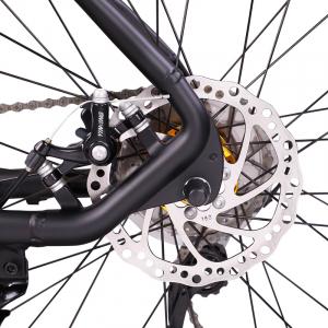 """Bicicleta MTB-HT Forever F26R7B, roata 26"""", cadru aluminiu, 27 viteze, culoare negru/rosu4"""