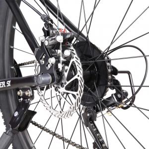 """Bicicleta MTB-HT Forever F26S1B, roata 26"""", cadru aluminiu, 27 viteze, culoare gri/alb3"""