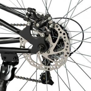 """Bicicleta munte, dubla suspensie, RICH R2750D, roata 27.5"""", frana disc, 18 viteze, negru/albastru8"""