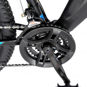 """Bicicleta munte, dubla suspensie, RICH R2750D, roata 27.5"""", frana disc, 18 viteze, negru/albastru5"""