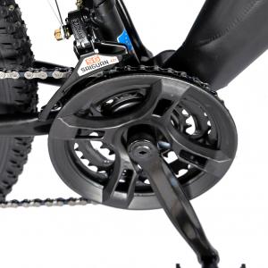"""Bicicleta munte, dubla suspensie, RICH R2750D, roata 27.5"""", frana disc, 18 viteze, negru/rosu3"""