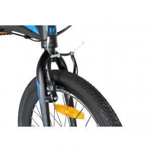 """Bicicleta pliabila 20"""" CARPAT C2052C, echipare SHIMANO 7 viteze, culoare negru/albastru10"""