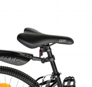 """Bicicleta TREKKING 24"""" RICH R2430A, 6 viteze, culoare negru/fucsia [2]"""